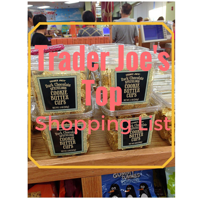 Top Trader Joe's shopping list